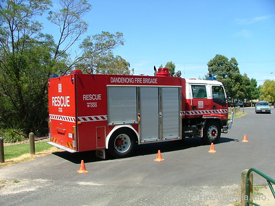 CFA Dandenong Rescue. January 2005