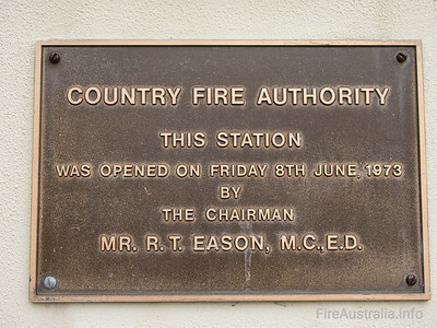CFA Scoresby Fire Station