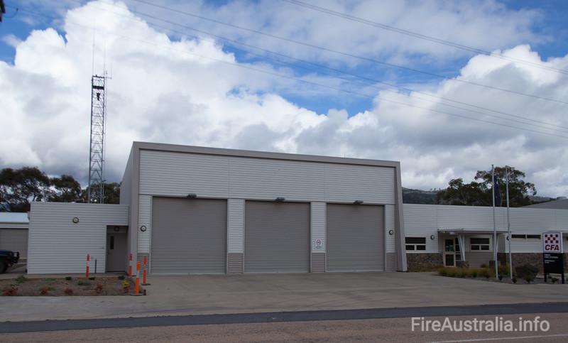 Omeo CFA Fire Station