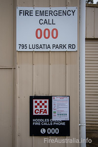 CFA Hoddles Creek Fire Station