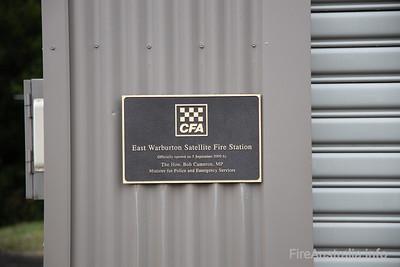 East Warburton CFA Satellite Fire Station