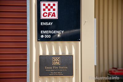 CFA Ensay Fire Station