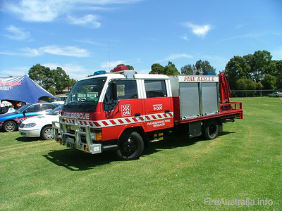 CFA Dandenong Rescue Support. January 2005