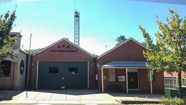 CFA Yackandandah Fire Station