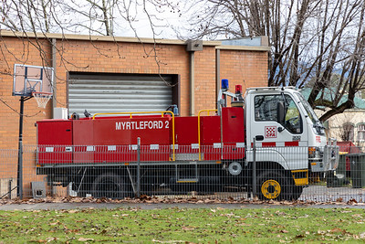 CFA Myrtleford Tanker 2