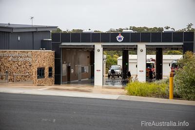 CFA South Warrandyte and FRV 84 Fire Station