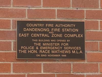 CFA Dandenong Fire Station