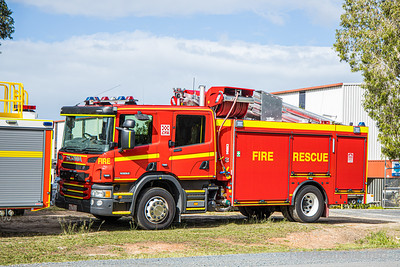 CFA Rosebud Pumper at Bell Fire in Queensland