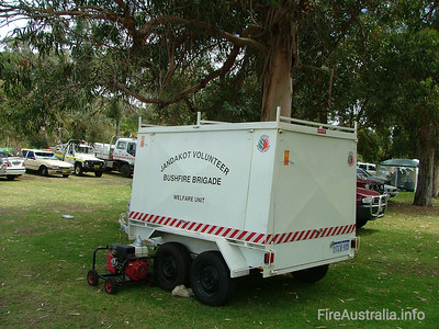 Jandakot BFB Welfare Trailer Photo October 2004