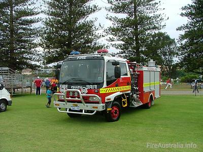 Kalgoorlie FRS Country Pumper Kalgoorlie FRS Country Pumper on display at Easter Championships 2005