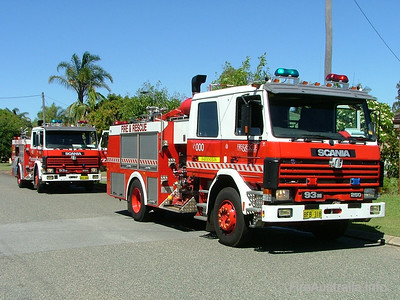 WA FRS Bassendean HP Bassendean's Heavy Pump at a Structure Fire