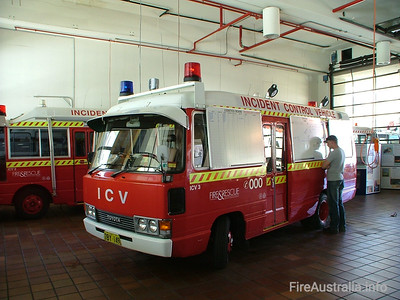ICV3 on Display at Perth's Open Day in 2004, with ICV2 in the background