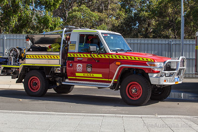 FRS LT547 Light Tanker at Kiara Fire Station
