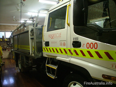 Waroona FRS 2.4U Tanker Photo January 2006