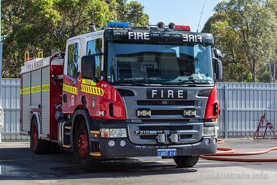 FRS HP29 Heavy Pump at Kiara Fire Station