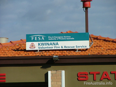 FRS Kwinana Fire Station August 2005
