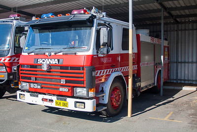 WA FRS MP53 at Workshops
