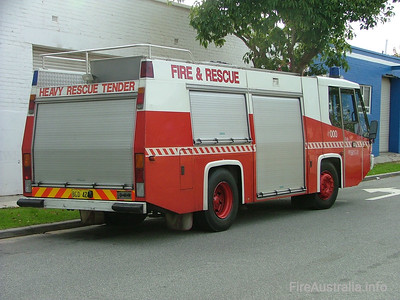 WA FRS Heavy Rescue Tender WA FRS Heavy Rescue Tender. The only Austral Firepac to make it into service, the HRT ran from Perth Station and responded to major accidents and rescues, as well as large structure fires.