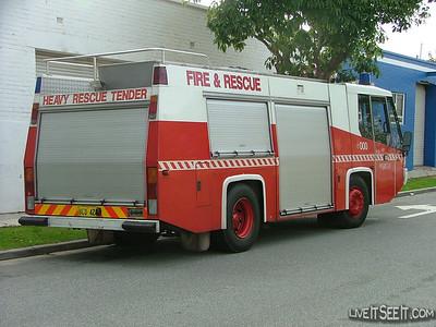 WA FRS Heavy Rescue Tender