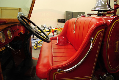 1933 Ford Fire Engine Interior