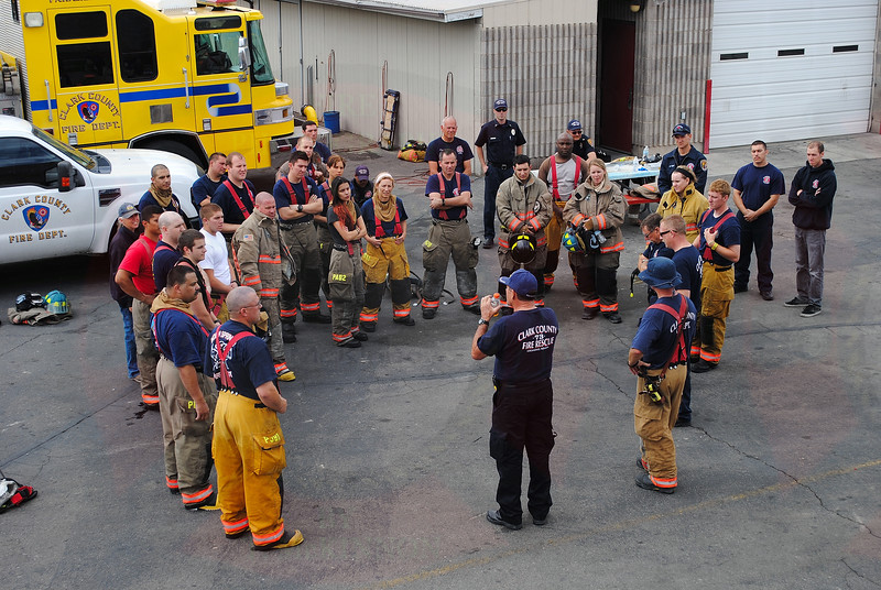 Final briefing from training...