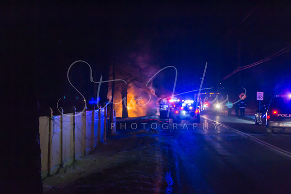 Lovely St Vehicle Fire