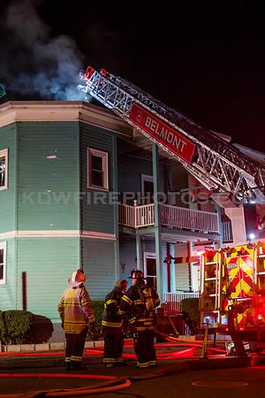 Belmont 3rd Alarm - 50-52 Grove St - 2/26/17