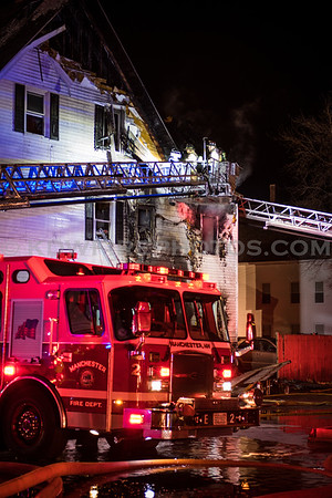 Manchester, NH 2nd Alarm - 165-167 W Hancock St - 11/23/17