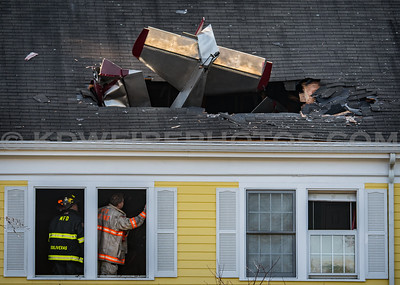 Methuen, MA 2nd Alarm Plane Crash - 1 Riverview Blvd - 2/28/17