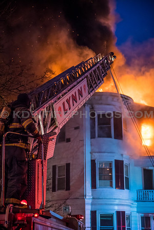 Lynn, MA 4th Alarm - 26 Broad St - 1/8/18