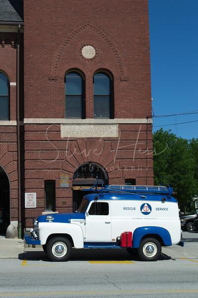 1957 International S120 Civil Defense Rescue Truck