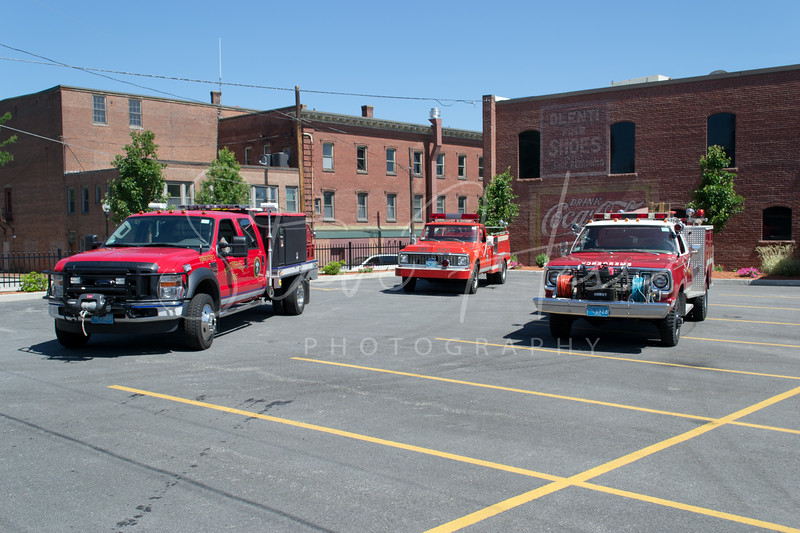 Southbridge Forestry 1, Forestry 2, Rescue 2<br /> 2008 F-550<br /> 1971 Chevy C20<br /> 1976 Dodge Powerwagon