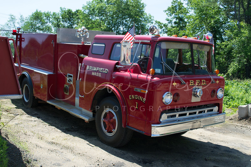 Brimfield Engine 1<br /> 1974 Ford C<br /> Former Worcester Engine