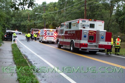MVA Heavy Rescue Wading River Road & Chichester Ave Center Moriches 10-3-15