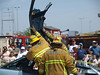 Extrication demonstration, LA County Fire Department Fires Service Day at Fire Station 129 on May 3, 2008