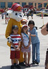 Sparky posed for pictures with fans, LA County Fire Department Fires Service Day at Fire Station 129 on May 3, 2008