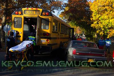 MVA Car vs Occupied School Bus