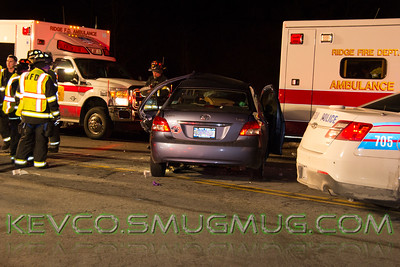 MVA- Heavy Rescue, 1-25-15,  Middle Country Rd and Ruth La