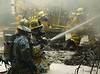 La County Fire Department training, La Canada, Saturday Feb 3rd, 2007