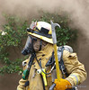 LAFD firefighter/paramedic at the Vineland IC fire.