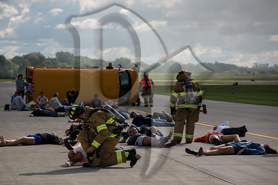 The Greater Rochester International Airport (ROC) conducted it's tri-annual disaster drill on September 15, 2012. The drill simulated a large airplane crash with multiple victims on the airport and was designed to test the response capabilities of the public safety agencies in and around Rochester, as well as the local hospitals. The drill is required by the FAA in order to prepare airports and their response agencies for an actual aircraft accident.