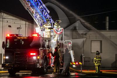 Orleans Pallet Fire