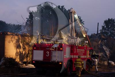 2011, September 13 - Burnwell Gas Explosion & Fire, Level 2 HAZMAT (1504)