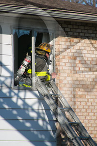 Rochester, NY firefighters operate at the scene of a 2-alarm fire in West Brighton. After being dispatched for smoke from the apartment building, Engine 8 arrived and reported smoke from the building with a fire in the walls. A second alarm was eventually struck due to the possibility of the fire running through void spaces and spreading to the rest of the structure. Four apartments were directly affected by the fire, while others likely suffered smoke and water damage. One firefighter was transported to the hospital with a minor injury. The fire was placed under control in about an hour and the cause is under investigation.