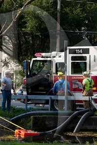 2011, September 13 - Burnwell Gas Explosion & Fire, Level 2 HAZMAT (1200)
