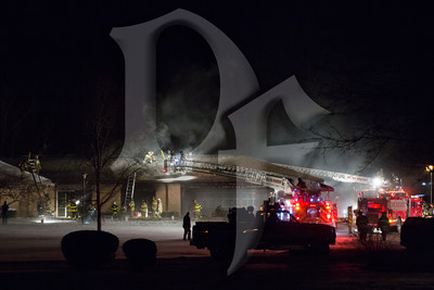 St Pius Church Fire