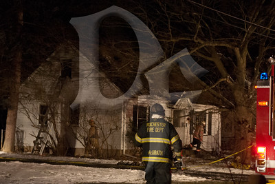 The second of two fatal fires within an hour in Gates, NY. This fire on Varian Ln. was called in about an hour after the first fire and required extensive mutual aid. January 20, 2012.