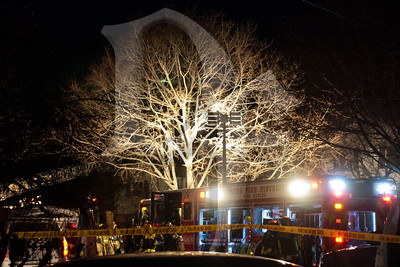Scene of a house fire that unfortunately claimed a life on Avacado Lane in Gates, NY - January 20, 2012.