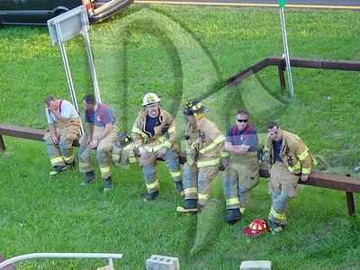 2005, September 20 - MVA, Boat vs Bridge, Lake Ontario State Parkway @ Greenleaf Rd, Lake Shore Fire District, Greece, NY (4357)