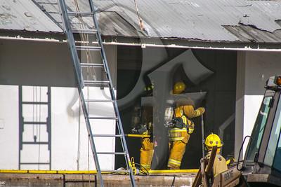 Hilton Building Fire
